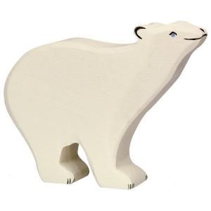 Holztiger Eisbär  - Holzspielzeug Profi