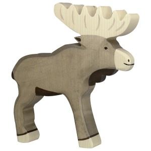 Holztiger Elch - Holzspielzeug Profi