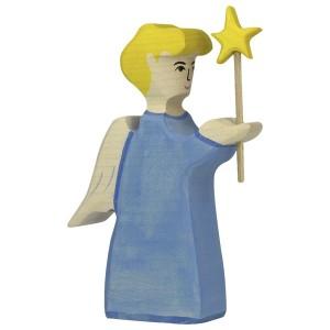 HOLZTIGER Kleiner Engel mit Stern - Holzspielzeug Profi