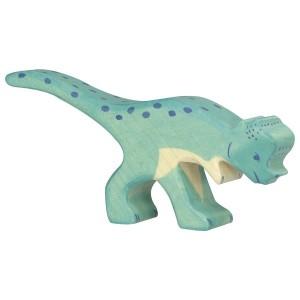 Holztiger Pachycephalosaurus - Holzspielzeug Profi