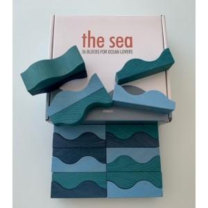 Miniblu Wellenbausteine the sea - Holzspielzeug Profi