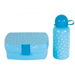 JaBaDaBaDo Lunchbox & Trinkflasche blau - Holzspielzeug Profi