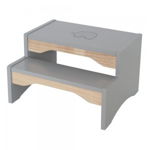 JaBaDaBaDo Treppenstuhl grau - Holzspielzeug Profi