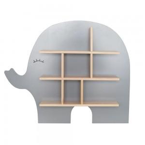 JaBaDaBaDo Setzkasten Elefant / Regal Elefant - Holzspielzeug Profi