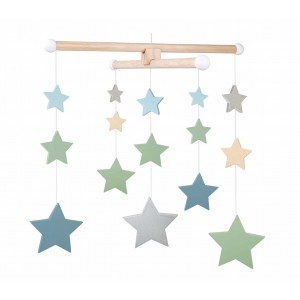 JaBaDaBaDo Mobile Sterne - Holzspielzeug Profi