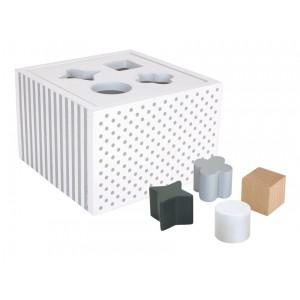 JaBaDaBaDo Sortierbox weiß - Holzspielzeug Profi