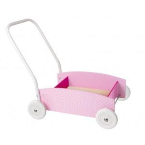 JaBaDaBaDo Lauflernwagen rosa - Holzspielzeug Profi
