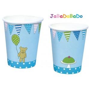 JaBaDaBaDo Trinkbecher mit Motiv in blau - Holzspielzeug Profi