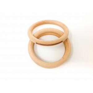 Grapat 3 große Reifen Hoops natur - Holzspielzeug Profi
