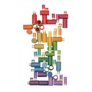 Grapat Lola: mit 72 Teilen- Holzspielzeug Profi
