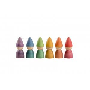 Grapat Nins®  Rainbow Tomten - Holzspielzeug Profi