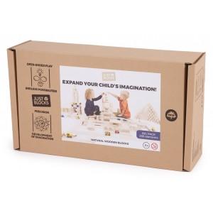 JUST BLOCKS LARGE Box - Holzspielzeug Profi