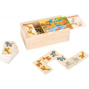 Domino Safari von small foot - Holzspielzeug Profi
