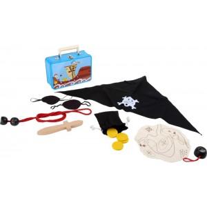 Kinderkoffer Piraten - Holzspielzeug Profi