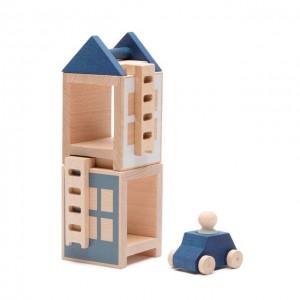 Lubulona Lubu Town Winterburg Mini  - Holzspielzeug Profi