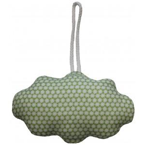 Deko Hängekissen Clouds grüne Blume von MOEPA - Holzspielzeug Profi