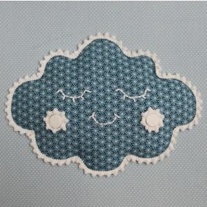 MOEPA Textil-Bild Snowy Cloud - Holzspielzeug Profi