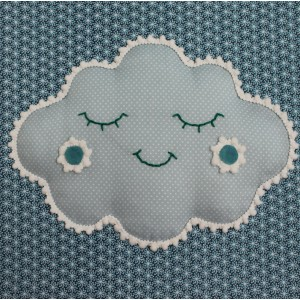 MOEPA Textil-Bild Cloudy Cloud - Holzspielzeug Profi