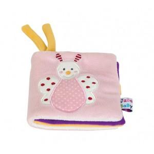 JaBaDaBaDo Baby Bilderbuch Schmetterling rosa - Holzspielzeug Profi
