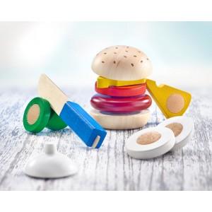 Selecta Burger: Schneidespielzeug - Holzspielzeug Profi