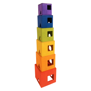 Tedefamily Stapelturm - Holzspielzeug Profi