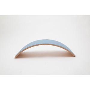 Wobbel Pro transparent lackert mit Filz Sky - Holzspielzeug Profi