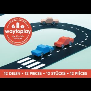 waytoplay Ringstraße: Lieferung ohne Autos - Holzspielzeug Profi