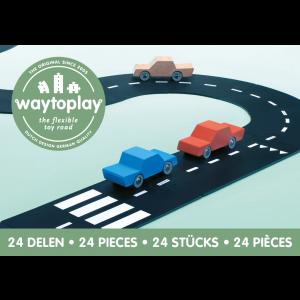 waytoplay Autobahn Highway: Lieferung ohne Fahrzeuge - Holzspielzeug Profi