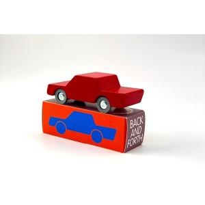waytoplay Back & Forth Holzauto Red - Holzspielzeug Profi