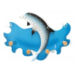 Kindergarderobe Delfin von Weizenkorn - Holzspielzeug Profi