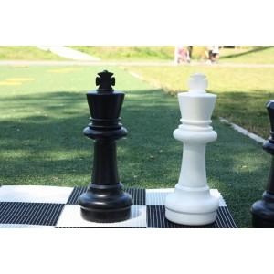 Übergames Giga Riesen Schachfigur König schwarz oder weiß - Holzspielzeug Profi