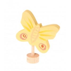 GRIMM´S Stecker Gelber Schmetterling