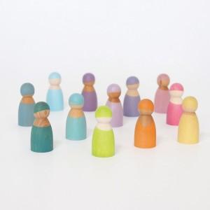 GRIMM´S Regenbogenbande 12 Pastell Freunde