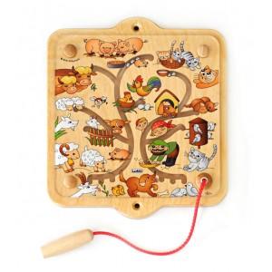 Lokki Magnetspiel Auf dem Bauernhof