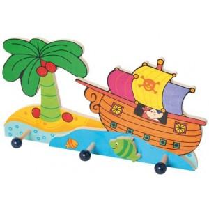 Hess Kindergarderobe Piratenschiff