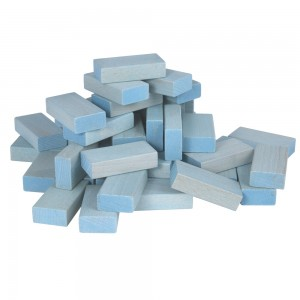 Beck Pastell Uhlbausteine blau