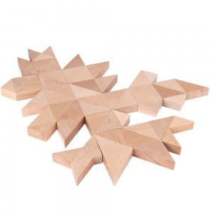 Beck Trioko Dreieck-Puzzle natur - Holzspielzeug Profi