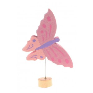 GRIMM´S Stecker Schmetterling rosa