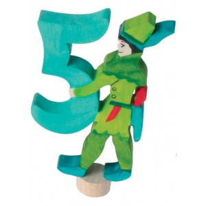 GRIMM´S Zahlenstecker Märchen 5 Robin Hood