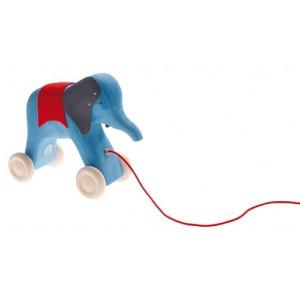 GRIMM´S Ziehtier Blauer Elefant Otto