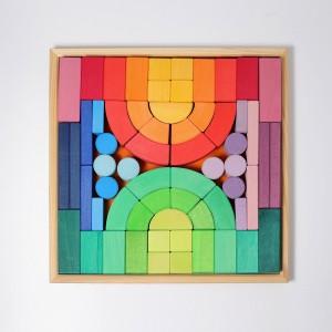 GRIMM´S Romanischer Baukasten - Holzspielzeug Profi