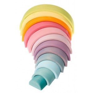 GRIMM´S Großes Bogenspiel Regenbogen pastell