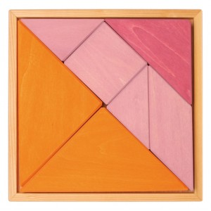 GRIMM´S Tangram rosa-orange