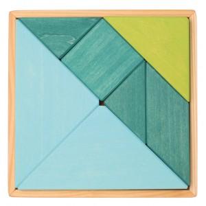 GRIMM´S Tangram blau-grün