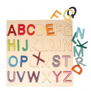 GRIMM´S Holzbuchstabenspiel im Rahmen