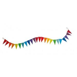 GRIMM´S Wimpelkette Regenbogen (24 Teile)