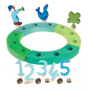 GRIMM´S Geburtstagsdeko Kleiner Ring, Ozean