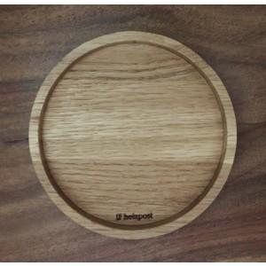 Holzpost® Untersetzer Blanko