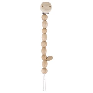 Heimess nature Schnullerkette Perlen