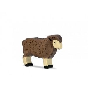 HOLZTIGER Schaf schwarz